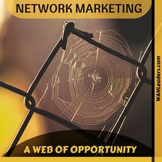 What a great web that we Network Marketers weave! Either make your own web or get trapped in someone else's.  #avon #acn #drive #dubli #doyoubake #directsales #herbalife #itworks #isagenix #javita #liasophia #mlm #mca #networkmarketing #nuskin #organogold #pinkzebra #seacret #legacydirect