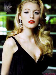 Vogue February 2009 Blake Lively by Mario Testino