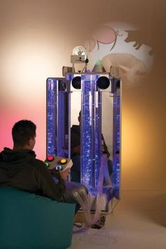 The Vecta Mobile Sensory Station is ideal where space is at a premium, such as Hospitals and Nursing Homes. Converts waiting rooms, treatment rooms and bedrooms into relaxing, distracting and Sensory Rooms, Sensory Activities, Special Needs Toys, Column Base, Sensory Stimulation, Acrylic Mirror, Treatment Rooms, Fiber Optic, Light In The Dark