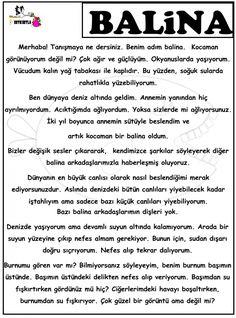 BU HAYVANLAR BİR ALEM Learn Turkish, Married With Children, Turkish Language, Stories For Kids, Science For Kids, School Counseling, Kids Learning, Kindergarten, Preschool