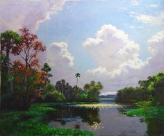 Autumn on the Homosassa by A. E. Backus