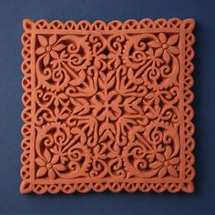 Decorative Terracotta Tiles Terracotta Architectural Plaque With Lotus And Palmette Designs