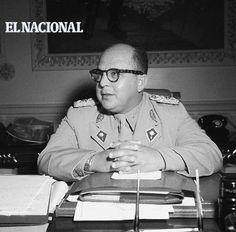 Marcos Pérez Jiménez, militar y político venezolano nacido en 1914. Presidente de la República de Venezuela en 1952; derrocado en 1958.  Foto: Cortesía Vasco Szinetar