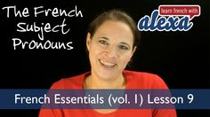 VIDEO  French Subject Pronouns