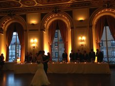 What a gorgeous room!  The Colony Club in Detroit was the backdrop for this amazing wedding!