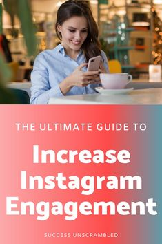 Yay!! I skyrocketed my Instagram engagement! If you are like me and you are exhausted with your results from Instagram then you need to take a look at this resource that gave me some interesting insights on what I was doing wrong and feeling so overwhelmed with Instagram.  Get everything you need to do a 180 degree turn on your Instagram engagement starting today. #instagrammarketing #instagramtips #instagramengagement