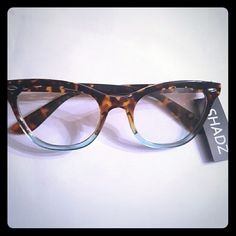 7a029508a9ee Shop Women s SHADZ Brown Blue size OS Glasses at a discounted price at  Poshmark. Description