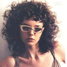 Love this big hair style with micro curly bang Gallery of curly girls with bangs