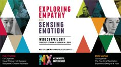 Exploring Empathy with our Senses Come & Join us Come