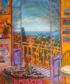 Bonnard's Dining Room (Le Cannet, 1943) by Damian Elwes