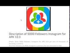 get followers 5000 apk mod