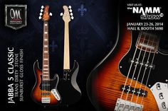 MAYONES JABBA 5 CLASSIC FLAMED MAPLE TOP TRANS 3TONE DIRTY SUNBURST GLOSS FINISH