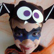 Maquillaje de Murciélago para Halloween