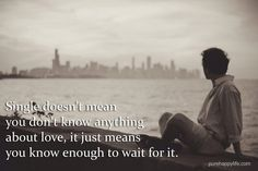 #quotes - Single doe      #quotes  - Single doesnt mean you...more on  purehappylife.com   https://www.pinterest.com/pin/445082375650291750/   Also check out: http://kombuchaguru.com