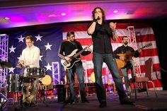 U.S. rock band Madison Rising perform at the Military Bowl luncheon (Photo by @Christina Olivas) at Washington D.C.#SJSUMilitaryBowl #MadisonRising #WashingtonDC #SJSU
