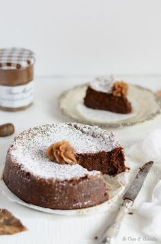 chestnut and chocolate cake.
