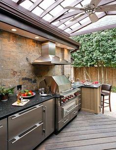 Outdoor Kitchen Shelves On Pinterest