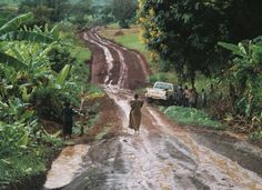 Everyday is a winding road/or muddy track if you're in Uganda The Places Youll Go, Places Ive Been, Places To Go, Isaiah 6, Back Road, Winding Road, Rainy Season, Cultural, Photo Diary