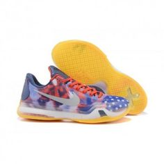 on sale a5a1b 26fa7 The cheap Authentic Nike Kobe X Of July  University Red Photo Blue Reflect  Silver Shoes factory store are awesome pair of shoes but it seems the super  high ...