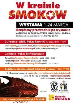 Wystawa smoków -  marzec 2013