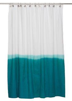 Nine Space Dip Dye Shower Curtain | AllModern