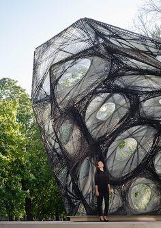 Biomimetic Pavilion in Stuttgart