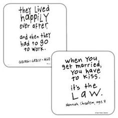 quotes for novelty wedding gifts!!...on coffee mugs, coasters, etc.