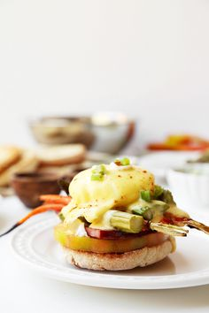 Spring Eggs Benedict - The Candid Appetite