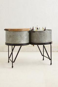 Steel Drum Party Tub - Anthropologie.com