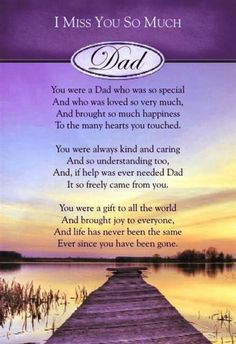 Missing my Dad.