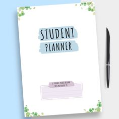 This Hardcover College Student Planner will help you stay on top of your studies like a boss! Prepare for exams by organizing your study plan, writing down due dates and keeping a custom time table according to your schedule. It comes in a ready-to-print format or use with Notability, Noteshelf, Goodnotes and Xodo for your for your iPad, so you can start using it today. #planner #college #academic #student #best To Do Planner, Hourly Planner, Academic Planner, Student Planner, Happy Planner, College Planner, Planner Template, Printable Planner, Teacher Organization