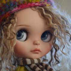 RESERVED Custom Blythe Doll by WabiSabiDolls on Etsy