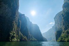 Sumidero Canyon Chiapas Mexico (1024 x 679) (OC) #reddit