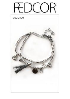Redcor Armband, mit Liebe von Hand gefertigt! - Buddha, Stern, Quaste
