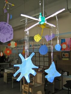 Solar Space mobiles--fun to do with our big buddies