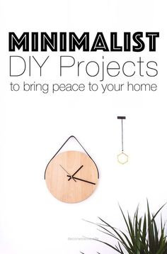Look Over This Easy DIY minimalist home decor ideas for makers who love chic, simple design. The post Easy DIY minimalist home decor ideas for makers who love chic, simple design…. appeared first o ..