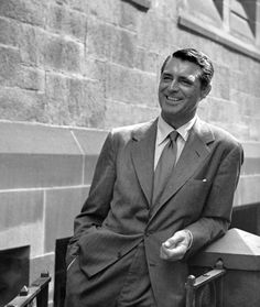 New York City. That easy Cary Grant style.
