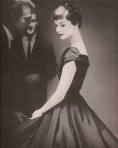 Junior Bazaar Fashion Editorial,1954  Photo by Lillian Bassman #EasyNip