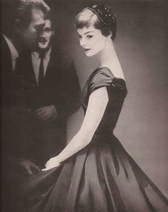 Junior Bazaar Fashion Editorial, 1954  Photo by Lillian Bassman  #EasyNip