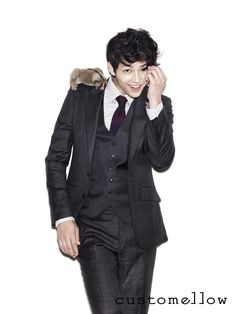 Song Joong Ki for Customellow Fall 2012 Ad Campaign
