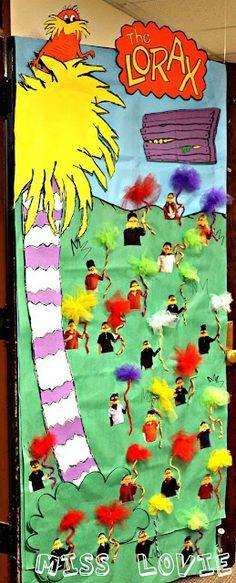 Lorax Classroom Door, Dr. Seuss | Doors and Bulletin Boards
