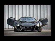 Marussia B2 Beautiful Russian 100,000 Euros Supercar - YouTube