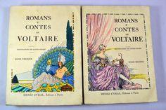 Librairie ancienne et autres trésors...: Romans et Contes de Voltaire chez Henri Cyral : Pour compléter votre collection…