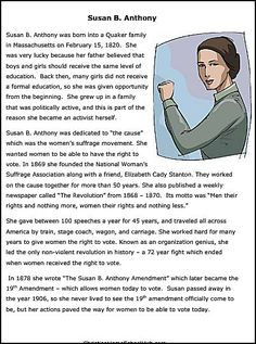 Christian Home School Hub - Susan B Anthony Resources                                                                                                                                                                                 More