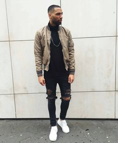 Make sure to follow @trillestoutfit for more men's fashion posts Clean styling…