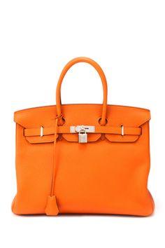 Vintage Hermes Birkin - in my favorite orange