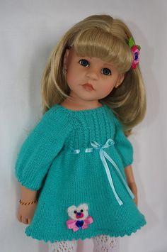 Платьица для куклы-модницы Жизельки Готц / Одежда и обувь для кукол - своими руками и не только / Бэйбики. Куклы фото. Одежда для кукол