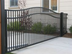 Double Compound Arched Gate