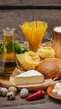Produkty spożywcze  na desce
