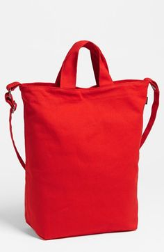 Baggu® 'Duck Bag' Canvas Tote in Poppy available at #Nordstrom
